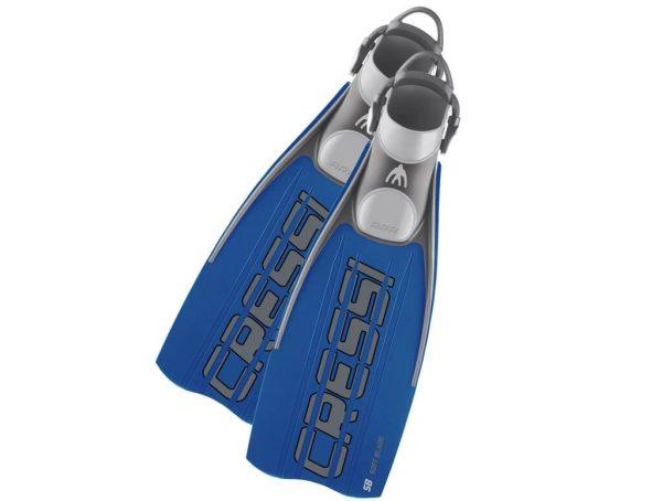 Aleta de Buceo Master Ara EBS Azul