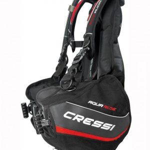 Chaleco Cressi Aquaride y Regulador Completo Master Titanium