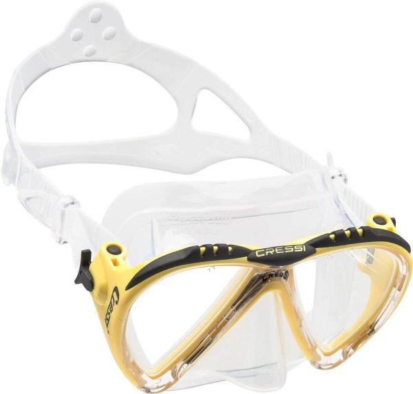 Mascara Cressi Lince amarillo