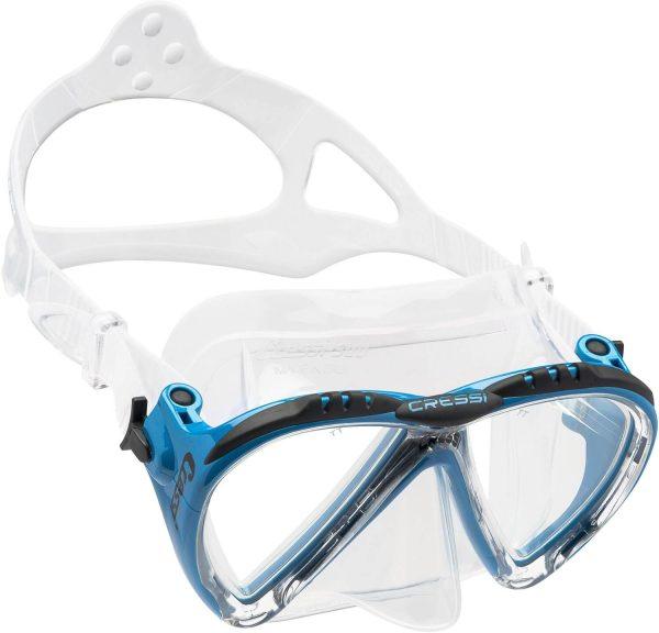 Mascara Cressi Lince azul