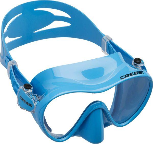 Mascara de Buceo Cressi F1 azul