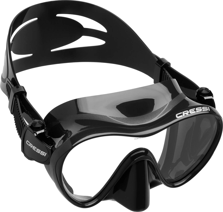 Máscara monocristal de Buceo sin marco Cressi F1