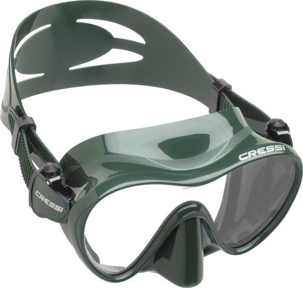 Mascara de Buceo Cressi F1 verde
