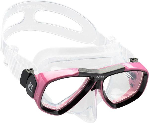 Mascara de Buceo Cressi Focus rosa