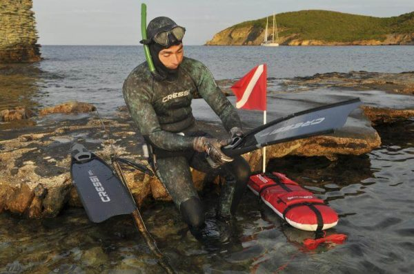 Boya de Pesca Submarina Cressi Spyder fusil