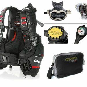 Oferta Pack Chaleco Aquaride 2.0 y Regulador Cressi Master Titanium