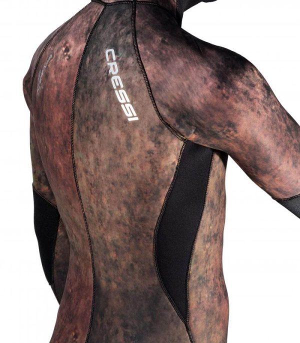 Traje Mimetizado Cressi CERNIA espalda