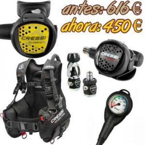 Oferta Pack Regulador MC5 Compact + Chaleco Start Pro